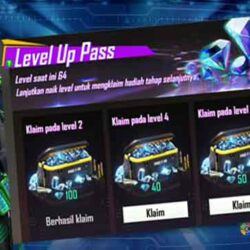 Event Level Up Pass FF Free Fire, 550 Diamond Hanya 16 Ribu