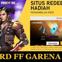 Reward FF Garena 44 tk, Diamond & Skin Gratis Free Fire ?