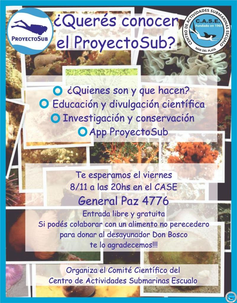 ¿Querés conocer al ProyectoSub? 1