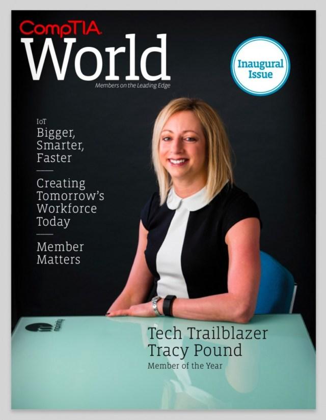 CompTIA World Magazine - Cover