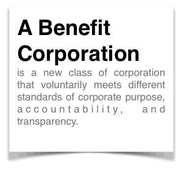Benefit Corporation Definition
