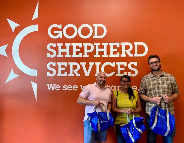 Casebook team members at Good Shepherd Services, Bronx, NY
