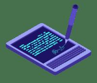 Notebook and digital remote signature capture