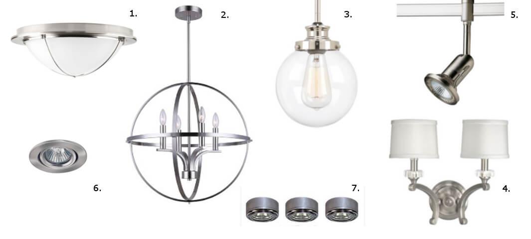 lighting fixture types