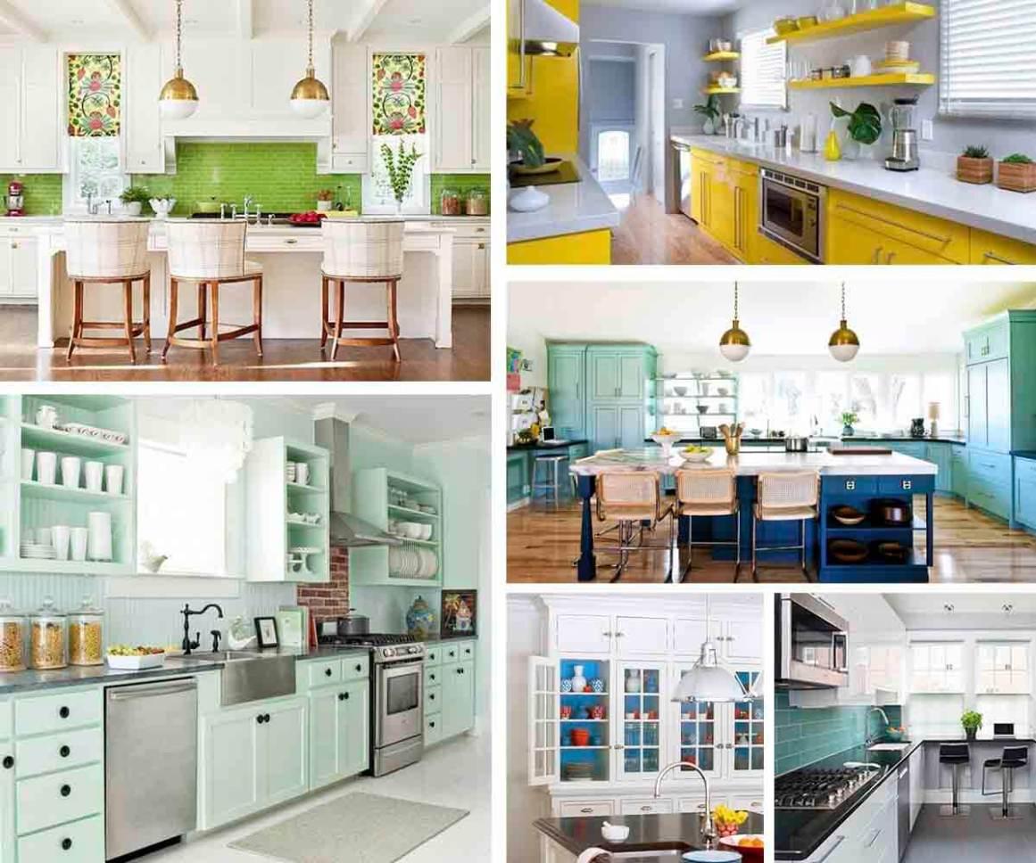 colourful kitchen ideas