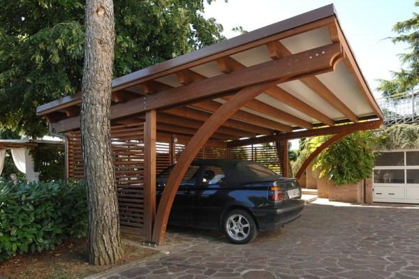 Carport in legno - 05