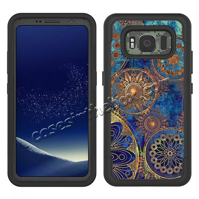 Hybrid Dual Layer Armor Defender Protective Case Cover For