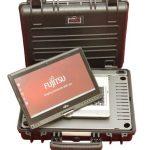Outdoor Kofferlösung mit Fujitsu Ultrabook