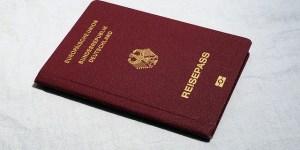 Reisepass mit RFID-Chip