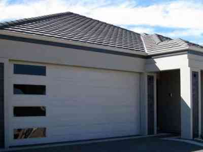 panel garage doors in Melbourne