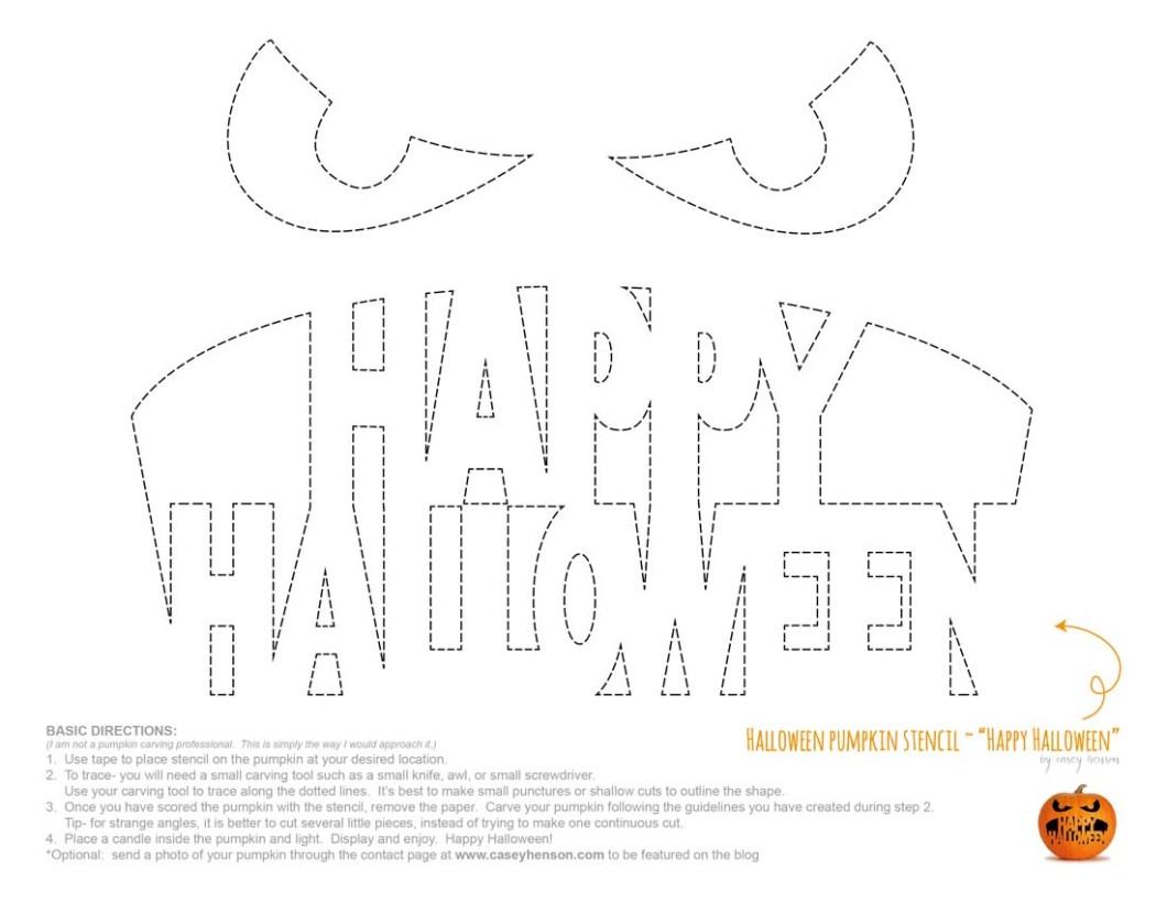 happy halloween pumpkin stencils cartoonsite co