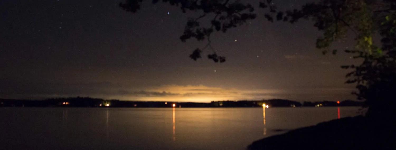 Twilight at the Viamede Resort
