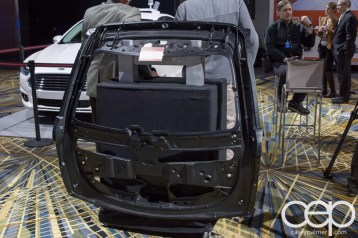 #FordNAIAS 2014 — Day 2 — Cobo Hall — Behind the Blue Oval — Smart — Advanced Plastic Composite