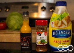 #DIYSandwich — Quick and Easy Summer Burger — Chipotle Mayo — Ingredients
