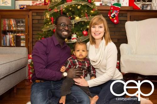 Palmer Christmas Family Photo 2014