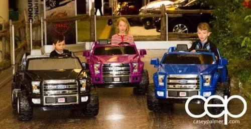 #FordCIAS — 2015 Canadian International Auto Show (CIAS) — Kids Rolling Around in Ford Power Wheels