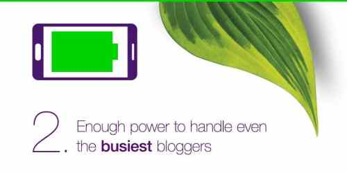 Casey Palmer and TELUS Mobility Present — 5 Things You NEED to Know About the Samsung Galaxy S6 — 2. Enough Power to Handle Even the BUSIEST Bloggers