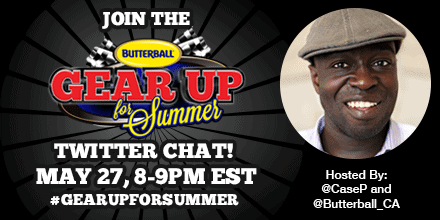 Casey Palmer x Butterball Canada Present — Quitting Boring Summers Cold Turkey with Butterball! — #LetsGetGrilling Twitter Party May 27 2015