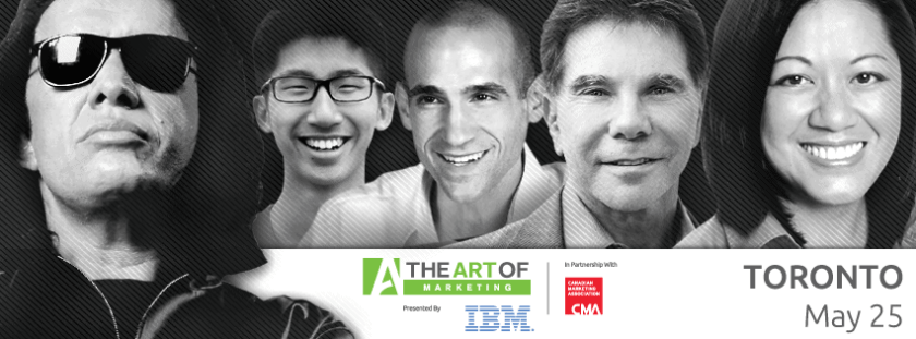 The Art of Marketing Toronto 2015 - or - My Investment in Building a Better Me — Facebook Banner (Gene Simmons, Brian Wong, Nir Eyal, Robert Cialdini, Charlene Li)