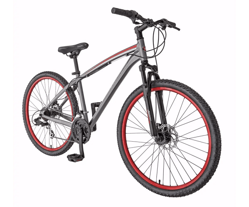 In It to Schwinn It — How the Biking Behemoth Got Me Back on Two Wheels! — Canadian Tire — Schwinn Onus Men's 27.5 Hardtail Mountain Bike