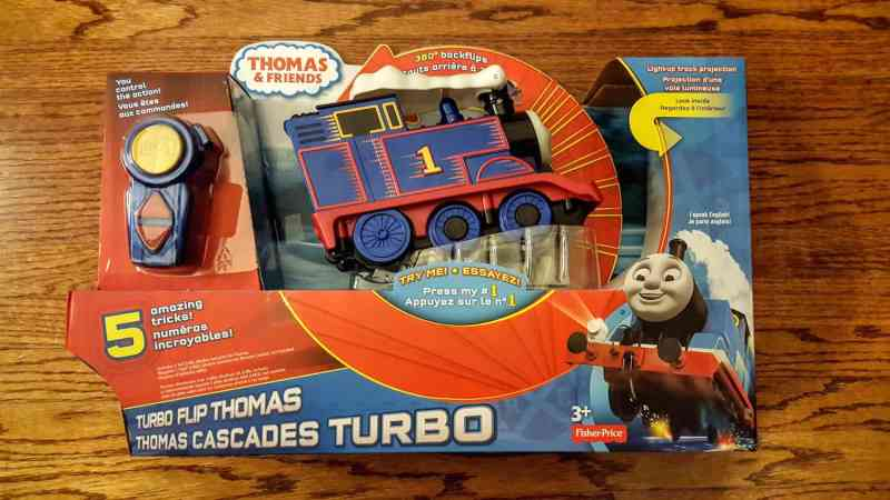 A Week in the Life... September 27th - October 3rd, 2015 — Thomas and Friends — Turbo Flip Thomas