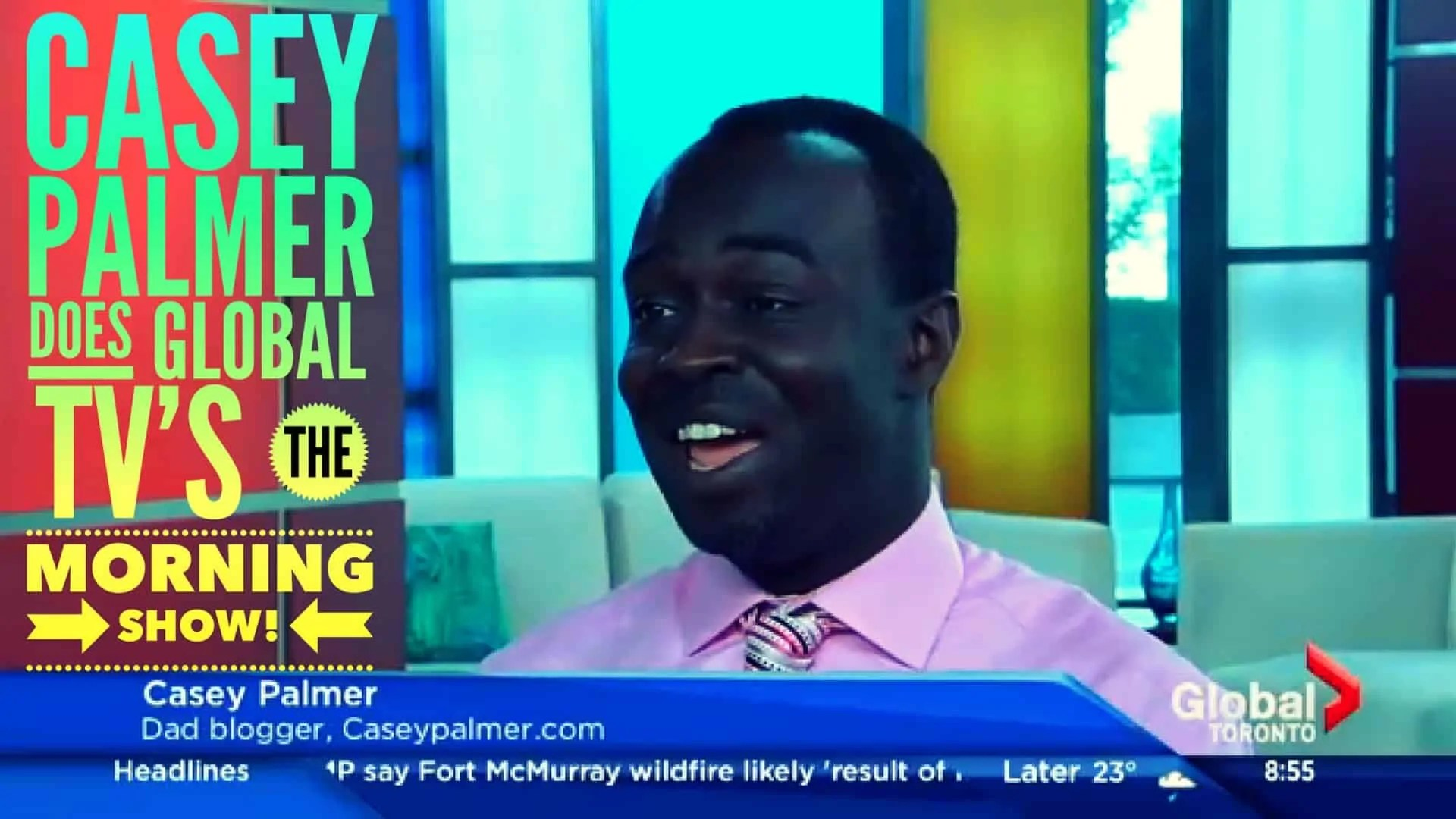 Casey Palmer Does Global TV's The Morning Show! (Featured Image)