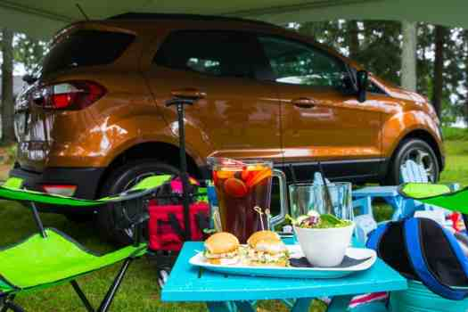 It's a Ford. #FordSummer. (Checking out the Ford Canada SUV Line in Muskoka!) — Sherwood Inn — The Ford EcoSport