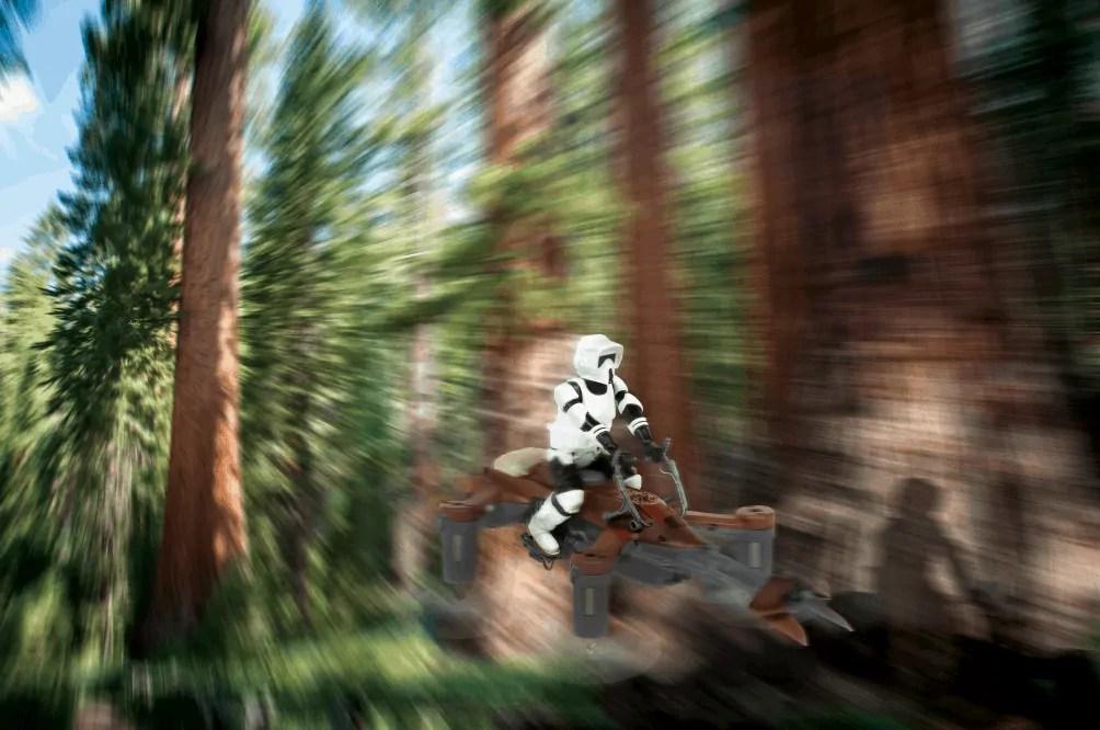 What Force Friday II Brought for Star Wars Fans Worldwide! — Propel Star Wars Elite Laser Battle Drones' 74-Z Speeder Bike