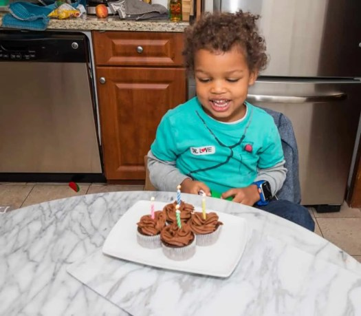 The Life and Times of the Palmer Family — NaBloPoMo Day 10 — This is 4. — Happy Birthday, Kiddo!