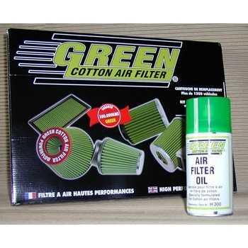 huile de graissage pour filtre green 300 ml