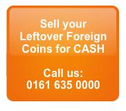 Leftover Currency We Exchange For CASH Cash4Coins