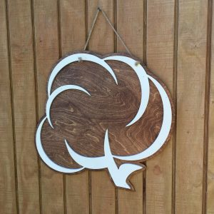 Rustic Cotton Door Hanger