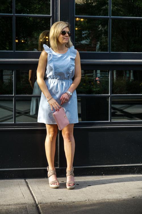 ruffle dress for summer