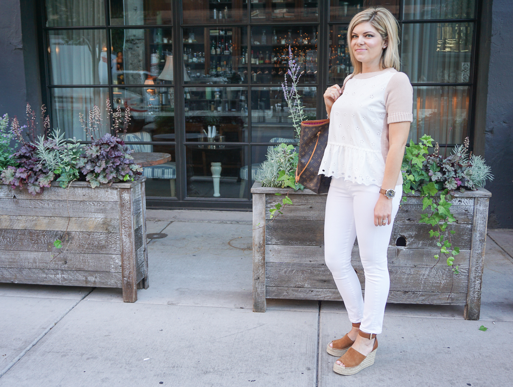 1d6a2b42b4be The Perfect Casual Friday Outfit for the Office    Cashmere   Jeans