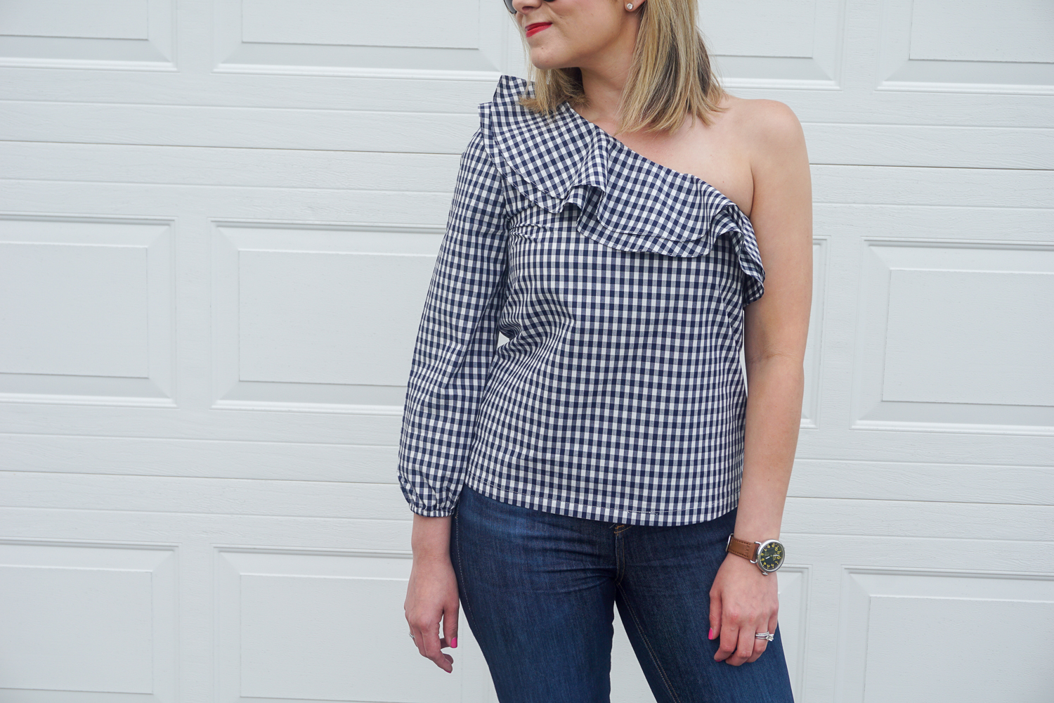 Gingham top
