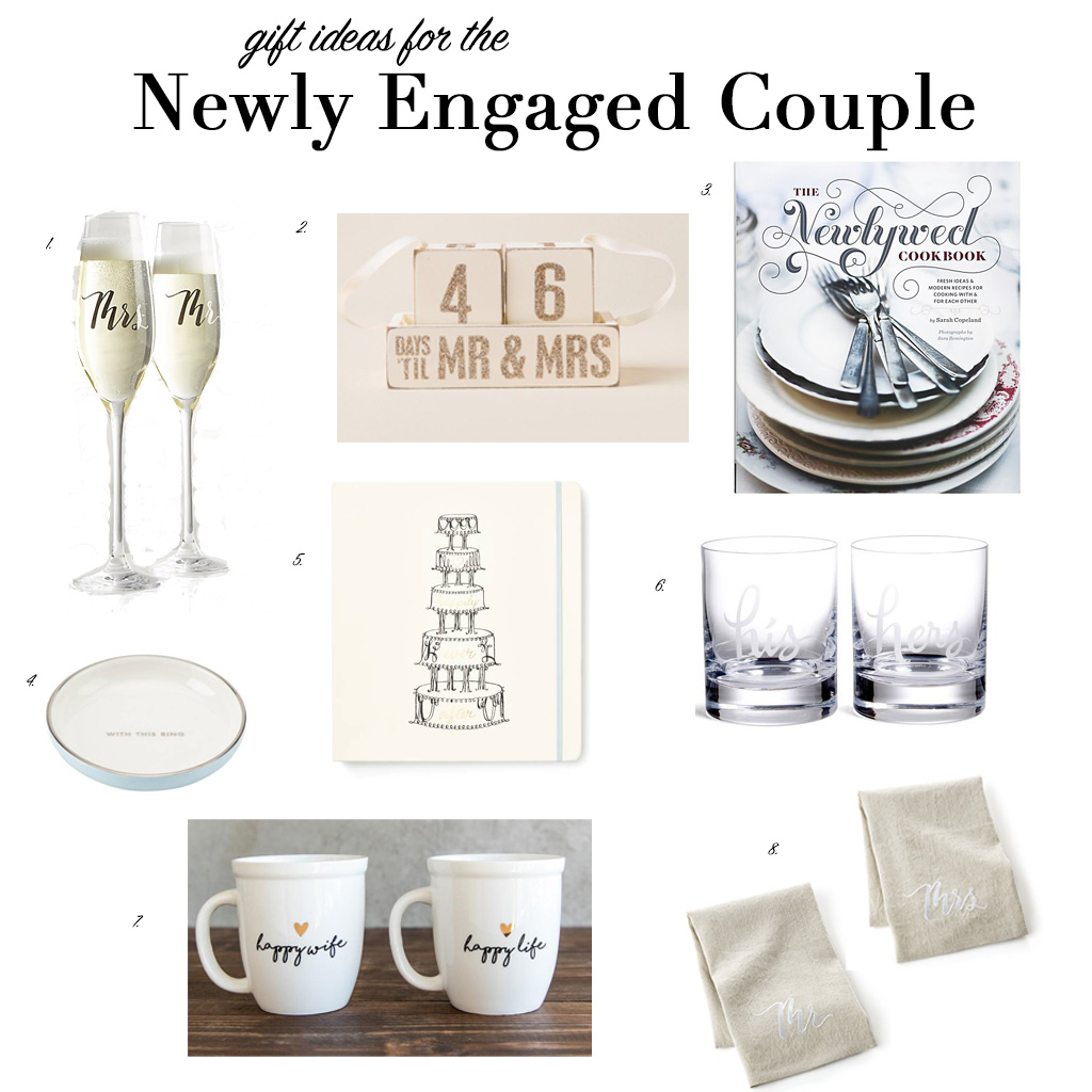 Gifts For Newly Wed Couple: Gift Ideas For The Newly Engaged Couple