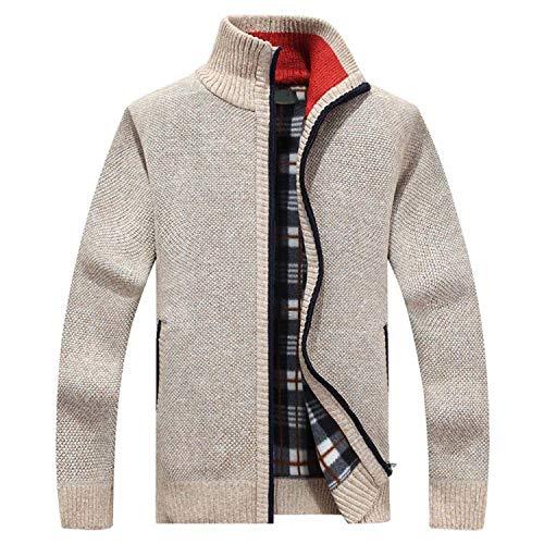 Chouyatou Men/'s Double Face Vest Full Zip Mock Neck Slim Sleeveless Jacket Coat