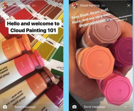 Instagram - stories for affiliate links