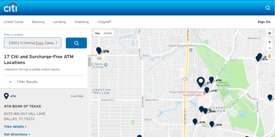 Citibank Near Me: How to Find nches Close to You - CashProf on