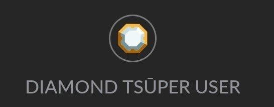 Diamond Tsu Badge Tsuper Badge Tsu Social