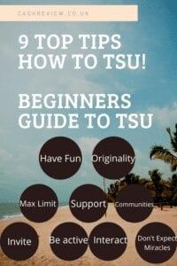 9 Top Tips - Beginners Guide to Tsu