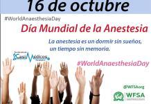 Día Mundial de la Anestesia