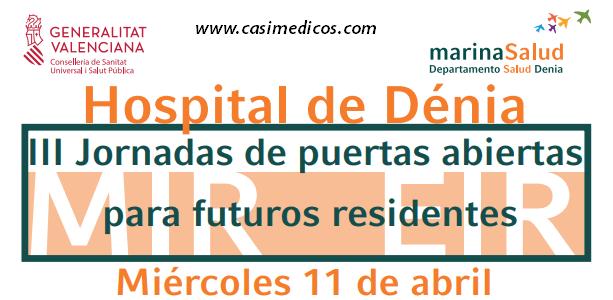 III JORNADA PUERTAS ABIERTAS HOSPITAL DE DENIA @ Hospital de Dénia | Dénia | Comunidad Valenciana | Spain