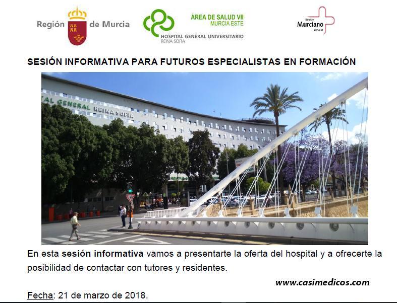 Jornadas de Puertas Abiertas Hospital General Universitario Reina Sofía de Murcia 2018 @ Hospital General Universitario Reina Sofía | Murcia | Región de Murcia | Spain