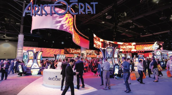 """Aristocrat to take """"inside"""" track at ICE 2018"""