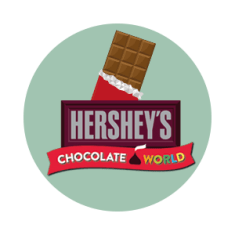 Free Hershey's World in Vegas on green background