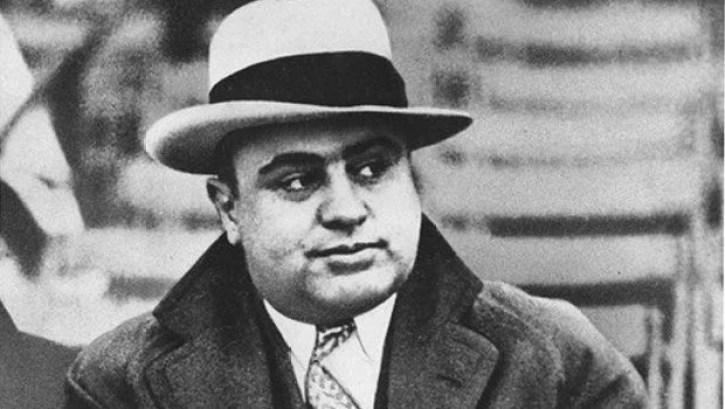 A photo of the famous gangster, Al Capone