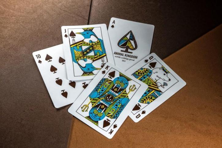 Animal Kingdom themed playing cards