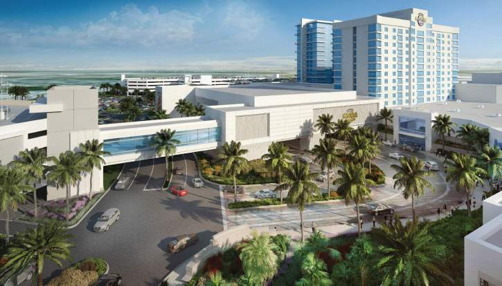 The expansion plans for the Hard Rock Casino