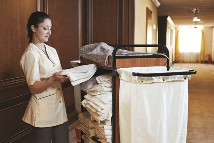 A hotel housekeeper from a Las Vegas hotel